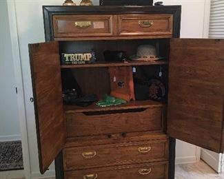 Thomasville furniture wardrobe inside view