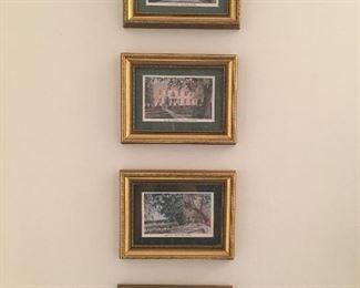 Sites of GA Framed artwork