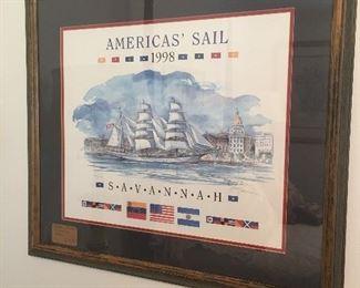 Savannah Framed artwork