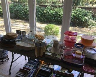 Kitchenware, cookbooks