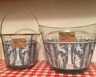 Wedgewood Jasperware ice buckets