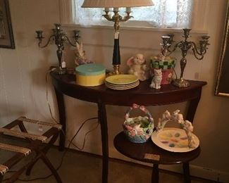 Foyer Table with Easter Décor
