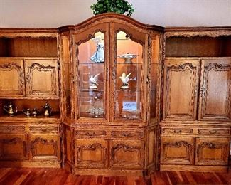 Gorgeous 7.5 ft tall by 12 feet wide hutch