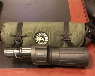 Triumph Eagle Optics with bag