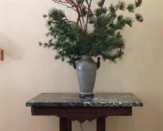 Nice Eastlake marble top table