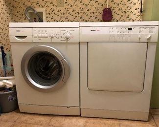 Bosch AXXIS Washer & Dryer