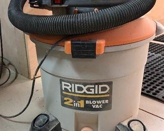 Rigid 2 in 1 Blower Vac