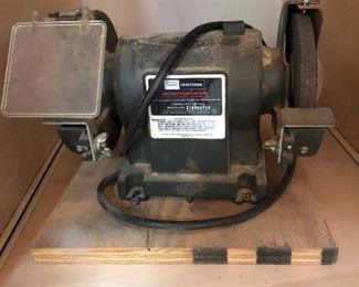 Craftsman Bench Grinder Model 257.191100