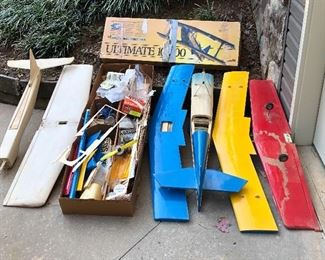 Model airplanes...