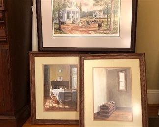 John Kollock Prints signed