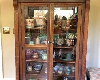 Antique cabinet filled with treasures....!!