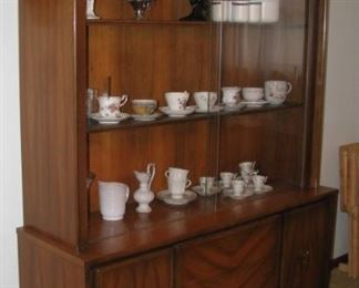 Mid Century Modern China Cabinet by Blowing Rock Furniture