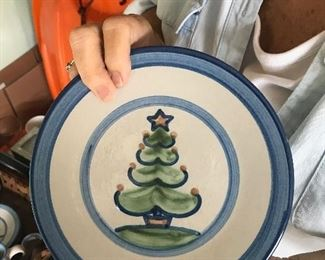 Lots of beautiful, collectible Hadley Pottery