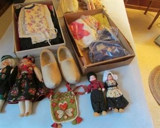How sweet are these Dutch clothes for a boy and a girl