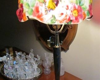 Pairpoint Puffy Papilion Table Lamp