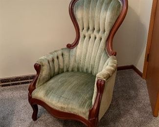 Antique Victorian Queen Anne chair