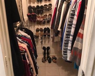 Women's clothing/shoes/belts and coats