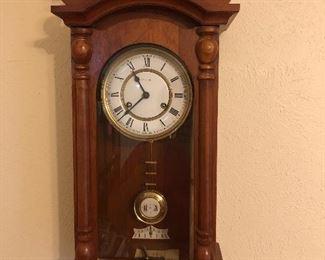 German wall clock made in Bavaria