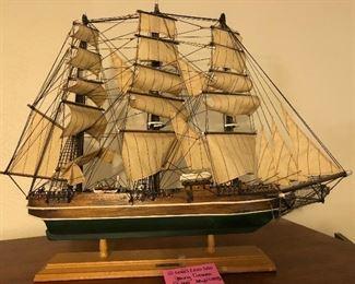Collectible ship model