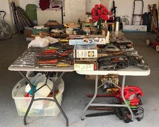 Tools, suitcases, cleaners, freezers, etc.