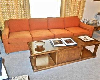 60's Orange Sofa
