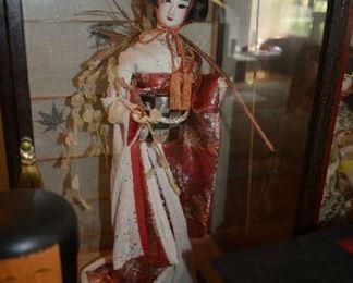 JAPANESE GEISHA DOLL