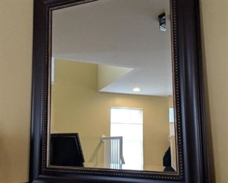 $40  Black trim mirror