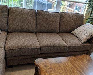 $525  Tweed sectional