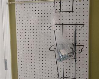 $10  Pegboard craft board