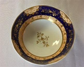 "Decorative Bowl circa 1820, 3"" H, 7"" diameter."