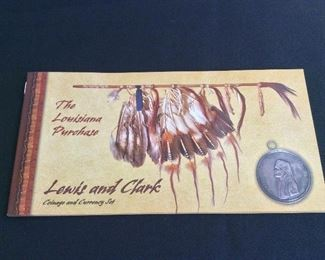 Lewis and Clark Coinage and Currency Set.