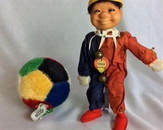 Steiff Plush Toys.