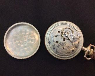Pocket Watch, Hamilton Watch Company, Lancaster, PA. Serial No. 1442920, Grade 924, Size 18s, Jewels 17j.