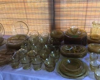 Enormous Collection of Depression Glass!