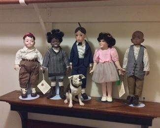 Our Gang Little Rascals Dolls.