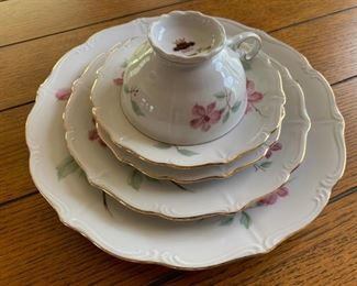 Forest Bavarian Porcelain Dinnerware, Blossom Time
