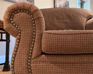Sealey Nailhead Trim Sofa and Chair Set