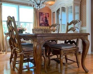 Fremarc French Country Dining Room Set