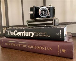 Books, Vintage Camera