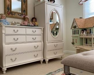 Vintage Bedroom Set, Three Piece