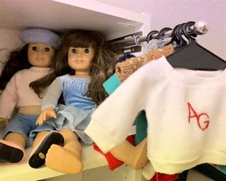 American Girl Dolls and AG Accessories