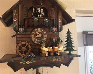 One of Several handmade German Coo coo clocks.