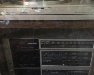 Vintage Fisher stereo set