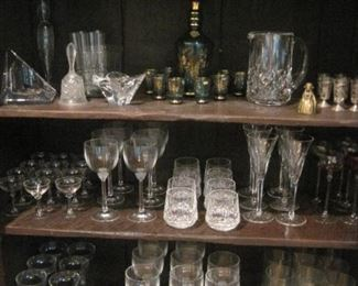 Crystal by Waterford, Ralph Lauren, Villroy & Boch & others.