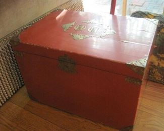 Vintage Chinese Box.