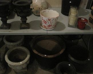 Pots and Urns.