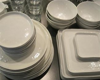 "Crate and Barrel Dishes ""Mercer"""