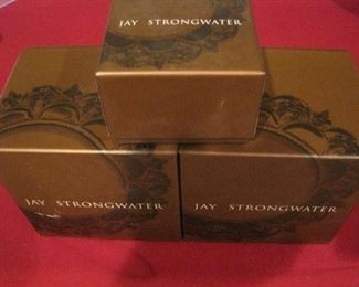 Jay Strongwater Ornaments.