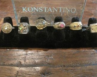 No need to shop at Nordstroms, we have many pieces of Konstantino fine Jewelry in 18K gold and Silver  for sale.