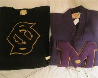 Vintage College Sweaters.